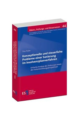Abbildung von Palm   Konzeptionelle und steuerliche Probleme einer Sanierung im Insolvenzplanverfahren   1. Auflage   2016   44   beck-shop.de