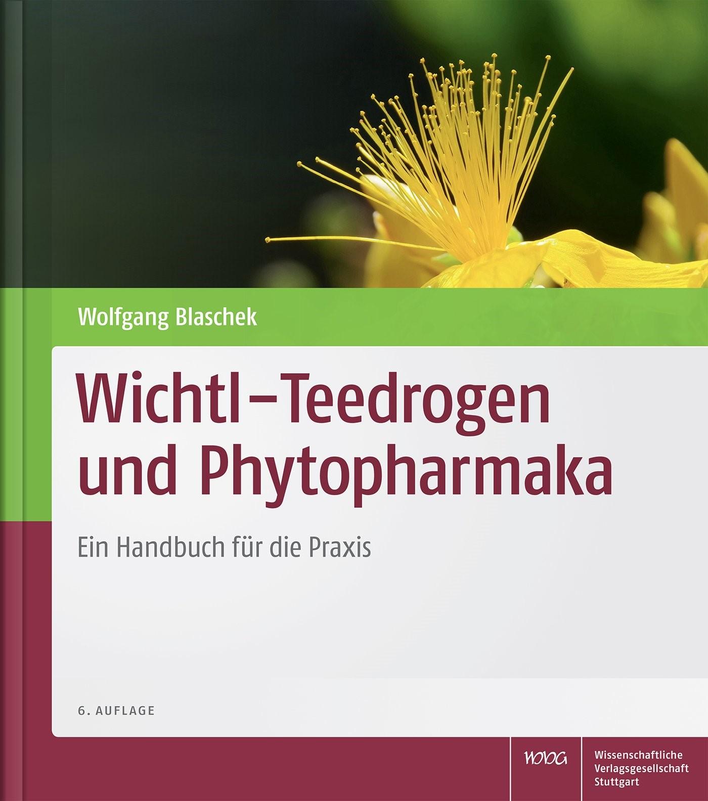 Wichtl – Teedrogen und Phytopharmaka | Wichtl / Blaschek | 6., vollständig neu bearbeitete und erweiterte Auflage, 2015 | Buch (Cover)