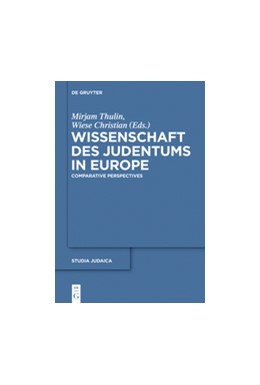 Abbildung von Wiese / Thulin | Wissenschaft des Judentums in Europe | 2021 | Comparative and Transnational ...