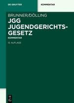 Jugendgerichtsgesetz   Brunner / Dölling   Buch (Cover)