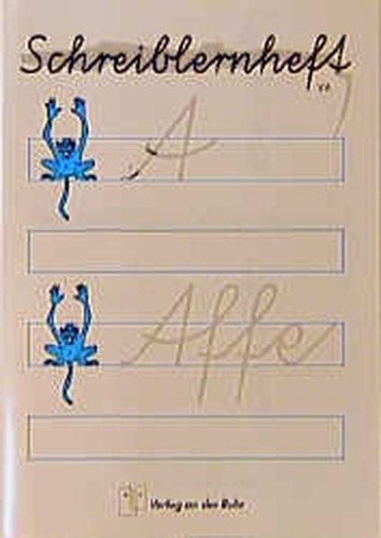 Abbildung von Donk / Scholte-Reh / Weichert   Schreiblernheft Vereinfachte Ausgangsschrift   1994