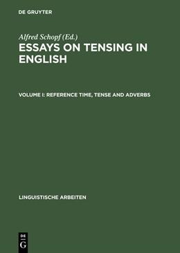 Abbildung von Schopf | Reference Time, Tense and Adverbs | Reprint 2015 | 1987 | 185