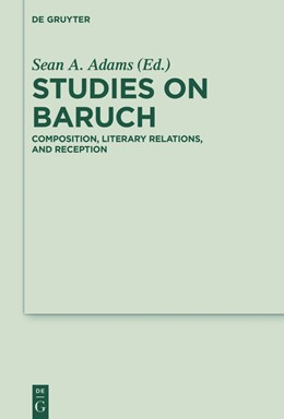 Abbildung von Adams | Studies on Baruch | 2016 | Composition, Literary Relation... | 23
