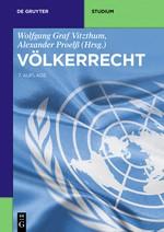 Völkerrecht | Vitzthum / Proelß | 7., überarbeitete und aktualisierte Auflage, 2016 | Buch (Cover)