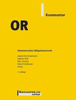 Abbildung von Kren Kostkiewicz / Wolf | OR Kommentar | 1. Auflage | 2016 | beck-shop.de