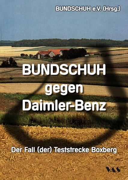 BUNDSCHUH gegen Daimler-Benz | / Hergt-Oellers / Oellers, 2016 | Buch (Cover)