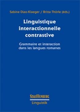 Abbildung von Diao-Klaeger / Thörle   Linguistique interactionnelle contrastive   2019   Grammaire et interaction dans ...