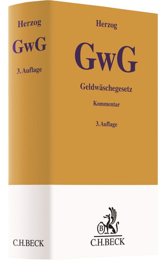 Geldwäschegesetz (GwG) | Herzog | 3. Auflage, 2018 | Buch (Cover)