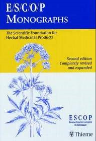 Abbildung von ESCOP. Publishing Ltd.   ESCOP Monographs   second edition, completely revised and expanded   2003