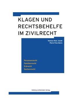 Abbildung von Duss Jacobi / Marro   Klagen und Rechtsbehelfe im Zivilrecht   2016   Personenrecht, Familienrecht, ...