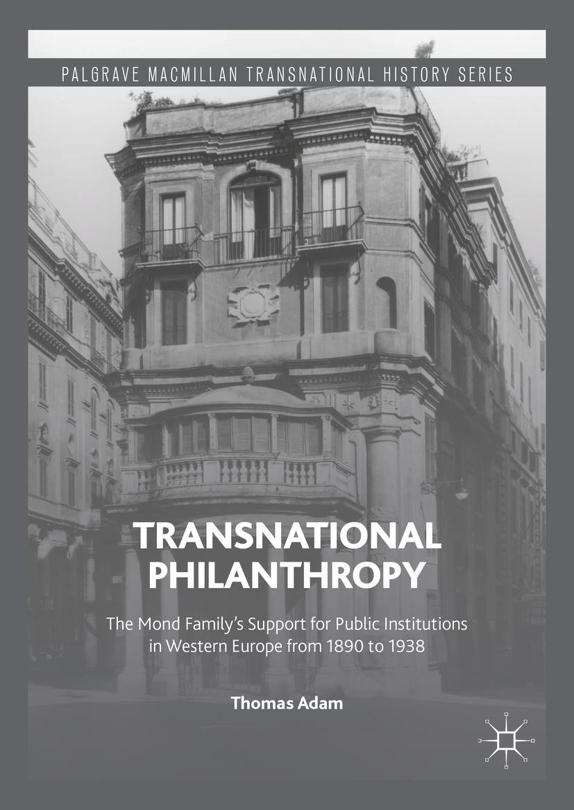 Transnational Philanthropy | Adam | 1st ed. 2016, 2016 | Buch (Cover)