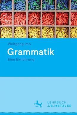 Abbildung von Imo | Grammatik | 1. Auflage | 2016 | beck-shop.de