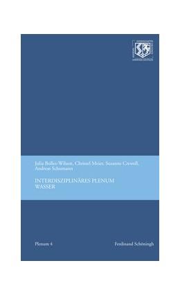 Abbildung von Meier-Staubach / Schumann / Crewell | Interdisziplinäres Plenum Wasser | 2016 | 2016 | 4