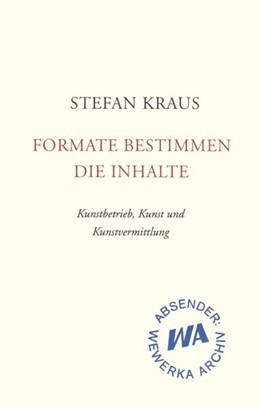 Abbildung von Kraus   Formate bestimmen die Inhalte   1. Auflage   2016   beck-shop.de