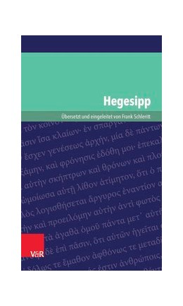 Abbildung von Schleritt | Hegesipp | Aufl. | 2016 | Band