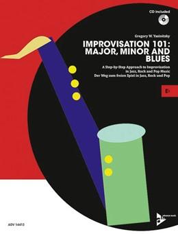 Abbildung von Yasinitsky   Improvisation 101: Major, Minor and Blues   2016   A Step By Step Approach for De...