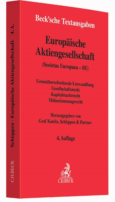 Europäische Aktiengesellschaft (Societas Europaea - SE) | 4. Auflage, 2016 | Buch (Cover)