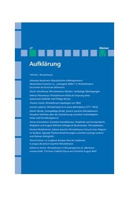 Abbildung von Decultot / Vollhardt | Aufklärung, Winckelmann | 1. Auflage | 2015 | beck-shop.de