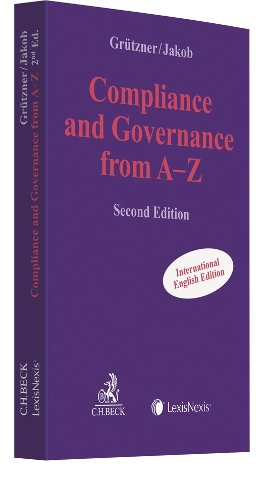 Compliance and Governance from A-Z | Grützner / Jakob | 2. Auflage, 2017 | Buch (Cover)