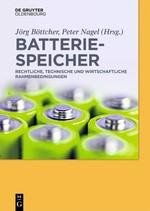 Batteriespeicher | Böttcher / Nagel, 2018 | Buch (Cover)