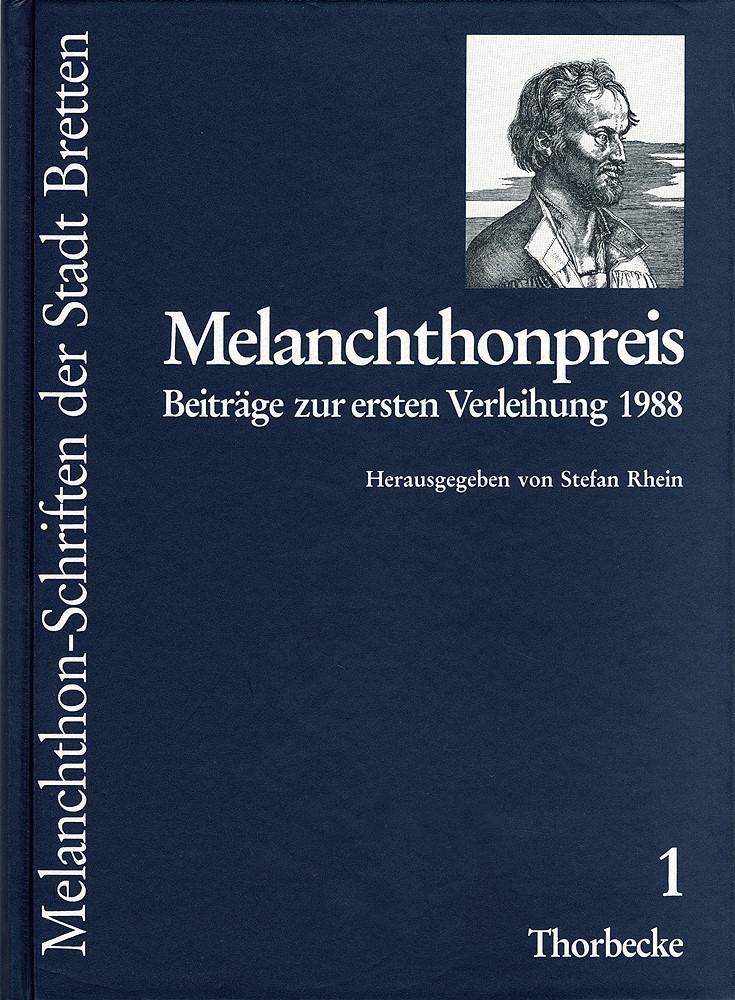 Abbildung von Melanchthonpreis | 1988