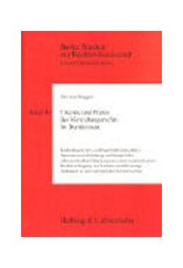 Abbildung von Biaggini | Theorie und Praxis des Verwaltungsrechts im Bundesstaat | 1996 | Rechtsfagen der 'vollzugsföder... | Band 49