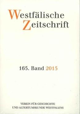 Abbildung von Westfälische Zeitschrift 165, Band 2015 | 2016 | Zeitschrift für Vaterländische...