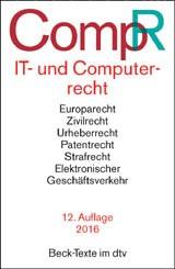 IT- und Computerrecht: CompR   Buch (Cover)