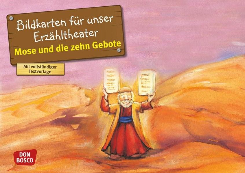 Mose und die zehn Gebote | Brandt / Nommensen | Nachdruck, 2016 | Buch (Cover)