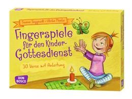 Abbildung von Menke / Seggewiß | Fingerspiele für den Kindergottesdienst | 2016 | 30 Verse mit Anleitung