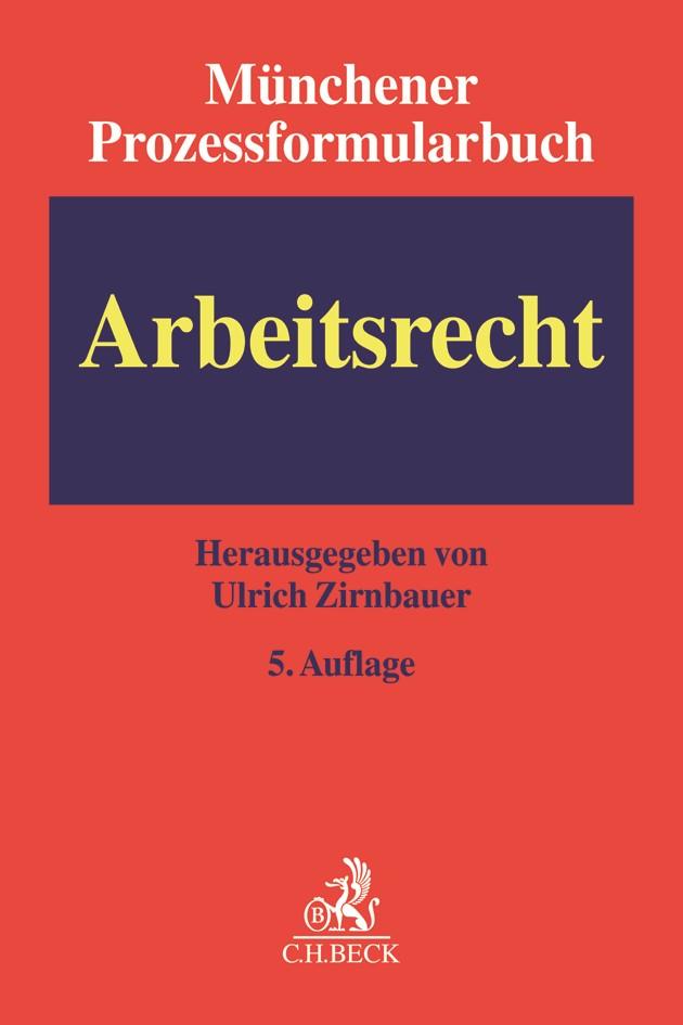 Münchener Prozessformularbuch, Band 6: Arbeitsrecht | Buch (Cover)