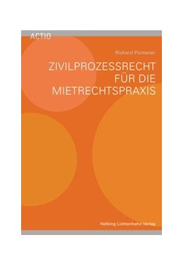 Abbildung von Püntener | Zivilprozessrecht für die Mietrechtspraxis | 2016