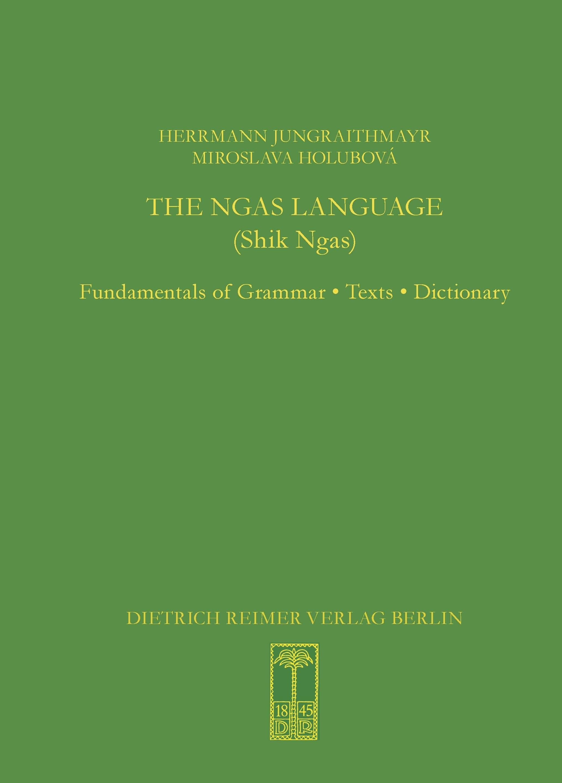 The Ngas Language (Shik Ngas) | Jungraithmayr, 2016 | Buch (Cover)