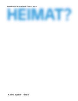 Abbildung von Herding / Schmidt | Heimat? | 2016