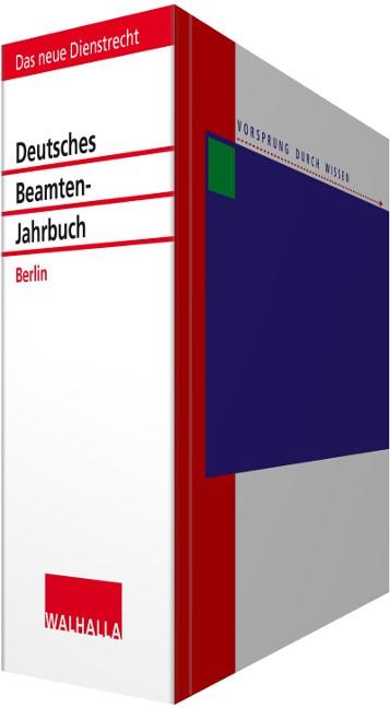 Deutsches Beamten-Jahrbuch Berlin • ohne Aktualisierungsservice | Borchert | Loseblattwerk mit Aktualisierung 2019/I, 2016 (Cover)