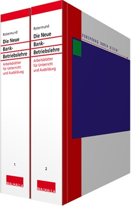 Abbildung von Rotermund | Die Neue Bankbetriebslehre Kombi-Pack Teil 1 + 2 • ohne Aktualisierungsservice | Loseblattwerk mit Aktualisierungen | 2020 | Arbeitsordner I und II; Arbeit...