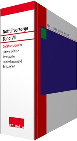 Abbildung von Walhalla Fachredaktion | Notfallvorsorge Bd. VII Gefahrenabwehr • ohne Aktualisierungsservice | 1. Auflage | 2020 | beck-shop.de