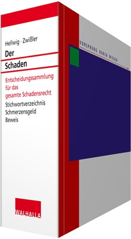 Abbildung von Hellwig / Zwißler | Der Schaden • ohne Aktualisierungsservice | 1. Auflage | 2020 | beck-shop.de