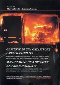 Gestione di una catastrofe e responsabilità = Management of a disaster and responsibility | Borghi / Perugini | Buch (Cover)