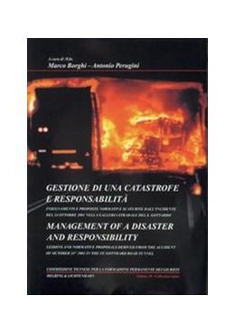 Abbildung von Borghi / Perugini | Gestione di una catastrofe e responsabilità = Management of a disaster and responsibility | 1. Auflage | 2003 | Volume 10 | beck-shop.de