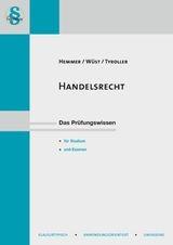 Handelsrecht | Hemmer / Wüst / Tyroller | 11. Auflage, 2016 | Buch (Cover)