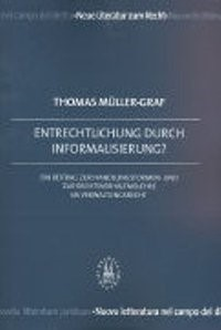 Entrechtlichung durch Informalisierung? | Müller-Graf | Buch (Cover)
