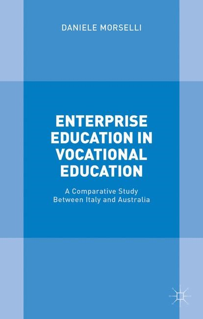 Enterprise Education in Vocational Education | Morselli | 1st ed. 2015, 2015 | Buch (Cover)