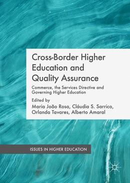Abbildung von Rosa / Sarrico | Cross-Border Higher Education and Quality Assurance | 1. Auflage | 2015 | beck-shop.de