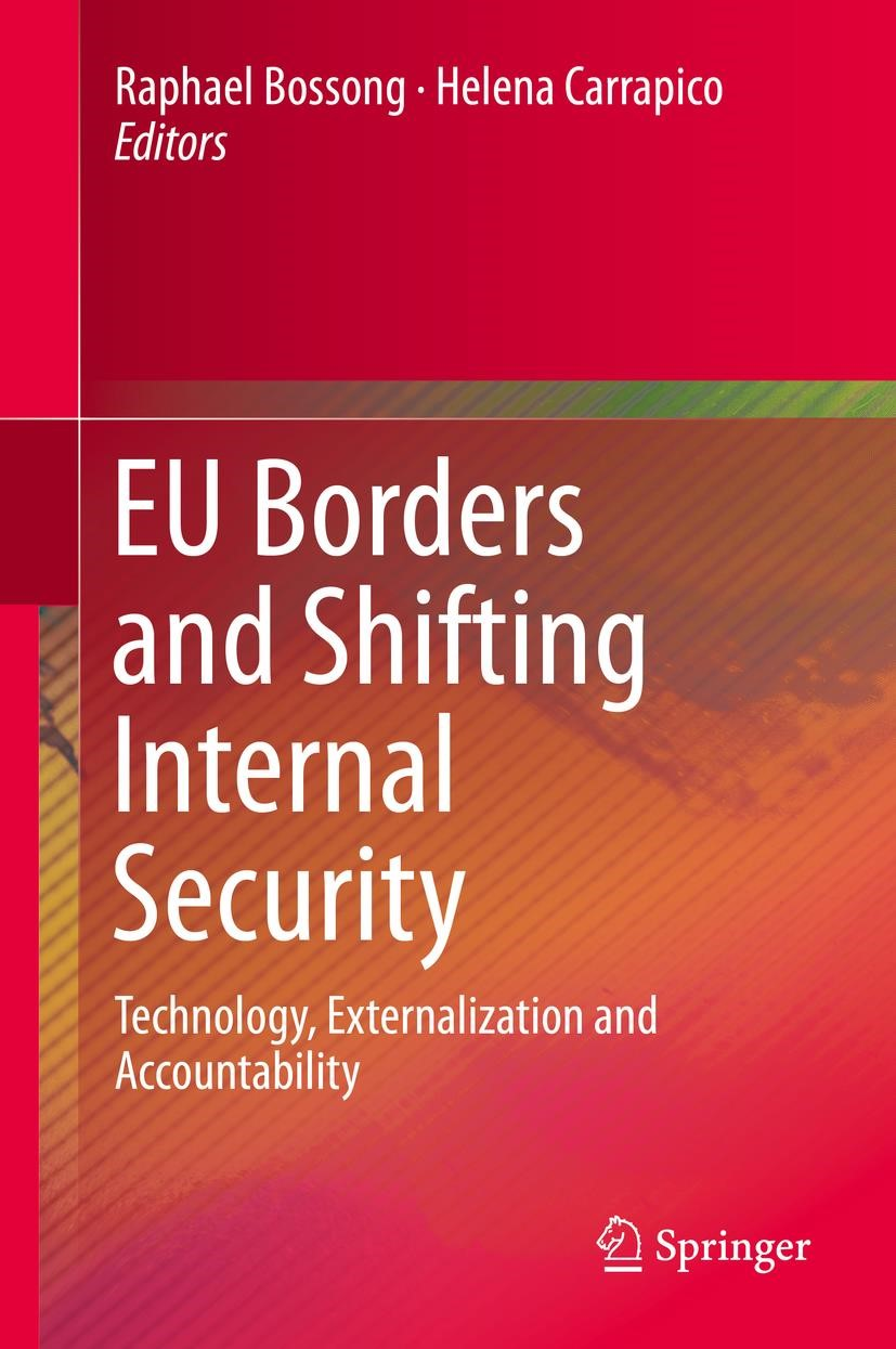 EU Borders and Shifting Internal Security | Bossong / Carrapico | 1st ed. 2016, 2016 | Buch (Cover)