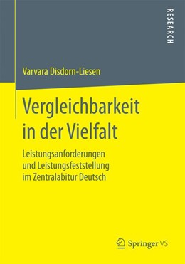 Abbildung von Disdorn-Liesen | Vergleichbarkeit in der Vielfalt | 1. Auflage | 2015 | beck-shop.de