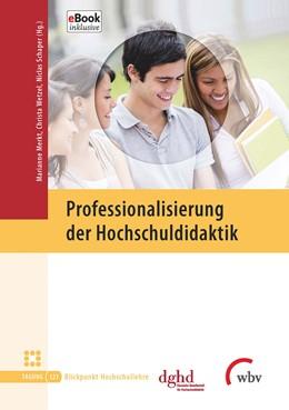 Abbildung von Merkt / Wetzel / Schaper | Professionalisierung der Hochschuldidaktik | 2016