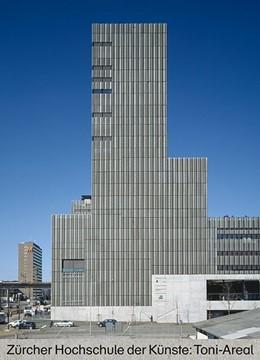 Abbildung von Schiller / Nill   Zürcher Hochschule der Künste: Toni-Areal   2016