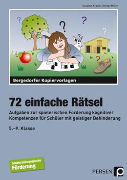Abbildung von Krauth / Miller | 72 einfache Rätsel | 1. Auflage | 2015 | beck-shop.de