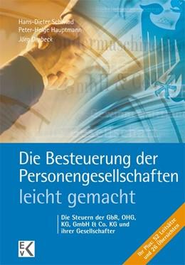 Abbildung von Drobeck   Die Besteuerung der Personengesellschaften - leicht gemacht®   3. Auflage   2016   beck-shop.de